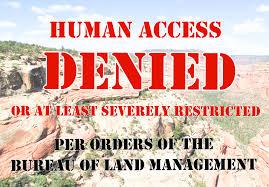 Utah Blm Map by Southeastern Utah Blm Implements Unprecedented Restrictions Via