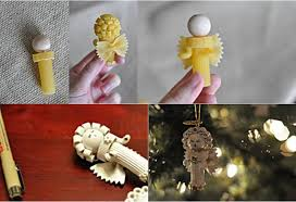 creative idea diy pasta ornaments