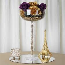Wedding Centerpiece Stands by 4 Pcs 18 In Clear Plastic Vases Stands Centerpieces