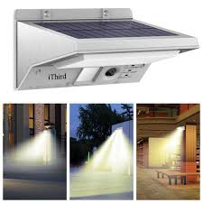 solar security lights ithird 21 led motion sensor wall lights 3