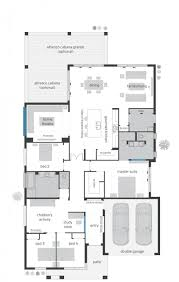 ranch floor plan u shaped house plans with pool in middle unique house plans ranch