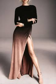 best 25 side slit dress ideas on pinterest collar dress black