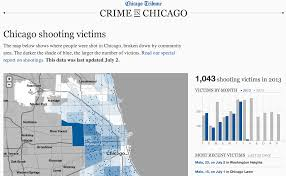 chicago map shootings mapping chicago s shooting victims tribune dataviz