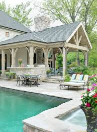 Outdoor Covered Patio Pictures Outstanding Outdoor Covered Patios With Picnic Table Wood Columns