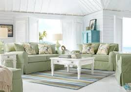 Coffee Table Rooms To Go Cindy Crawford Home Beachside Green 7 Pc Living Room Living Room