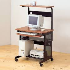 Walmart Computer Desk With Hutch by Coaster Mobile Station Computer Desk Walmart Com