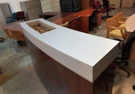 Mobile Reception Desk Mobile Reception Counter Toronto New Used Office Furniture