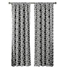 Extra Wide Curtain Rods Creative Home Ideas Semi Opaque Lenox 100 Cotton Extra Wide 96 In