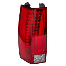 cadillac escalade tail lights brock supply 07 14 cadillac escalade tail lamp assembly w o