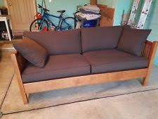 Mission Style Loveseat Mission Sofa Ebay