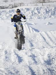 motocross snow bike timbersled dominates at the qualifier race snowest magazine