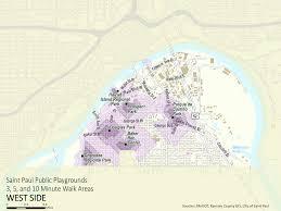 Map Of St Paul Mn D3 Demo Saint Paul Parks Index Map