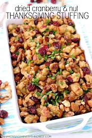 dried cranberry nut thanksgiving cinnamon spice