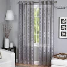 Sheer Grommet Curtains Latique Sheer Grommet Curtain Panels
