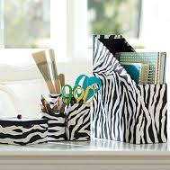 Zebra Desk Accessories Zebra Desk Accessories Home Office Organization Pinterest