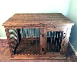 dog kennel side table dog kennel side table end table into a dog house indoor crate