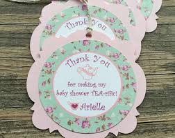Tea Baby Shower Favors by Tea Favor Tags Etsy