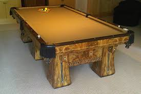 Pool Table Disassembly by Denver Pool Table Restoration Colorado Pool Table Refinishing