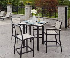 High Patio Dining Set Outdoor Dining Furniture Sports