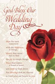 wedding bulletins wedding bulletin god bless our wedding day