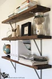 Wooden Storage Shelves Diy by Best 25 Easy Shelves Ideas On Pinterest Shelves Wood Floating