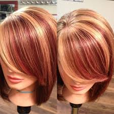 bolnde highlights and lowlights on bob haircut strawberry blonde hair with blonde highlights google search hair