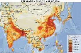 population density map china population map 2011 2012 population density maps china