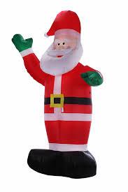 Dinosaur Animated Christmas Decoration by Amazon Com Homegear 8 Ft Christmas Inflatable Santa Claus Home