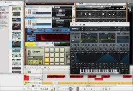 reason by propellerhead the music making software with everything