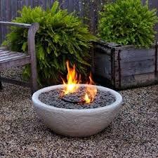 Firepit Garden Garden Bowl Real Bowl Gray Tabletop Pit