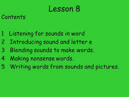 spelling for older students sso lesson 8 contents 1 listening for