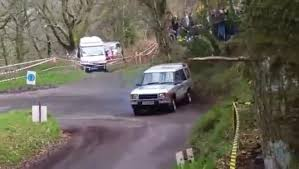 racing land rover this land rover rally car has a bmw m3 engine biser3a