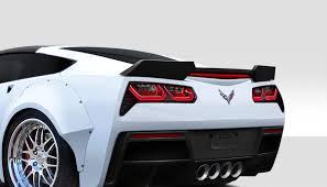 corvette wing wing kit for 2016 chevrolet corvette chevrolet corvette c7