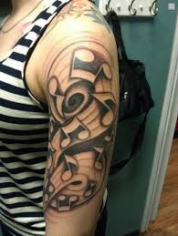 cool music tattoos designs page 2 golfian com