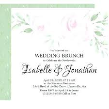 wedding brunch invitation ideas post wedding brunch invitations and burgundy floral post