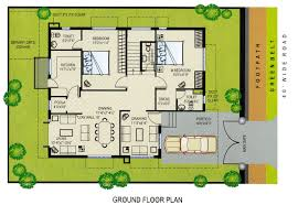 100 west facing house vastu floor plans vastu one side road