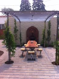 handmade arched steel trellis by steel it inc custommade com