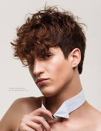 short in back longer in front mens hairstyles men s haircut with a short back and longer curls towards the front