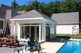 pool cabana guest house plans american hwy