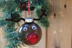 reindeer ornament personalize your tree great for wreaths