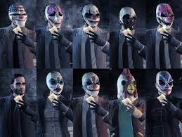 payday 2 halloween masks vg video game generals thread 128742895
