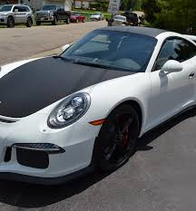 porsche vinyl vinyl color change