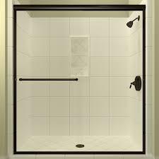 Shower Door Shop Shop Arizona Shower Door Lite 56 In To 60 In W Semi Frameless