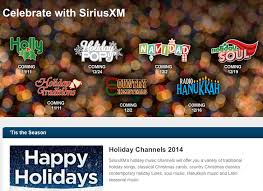 radio hanukkah on siriusxm christmas hanukkah kwanzaa on