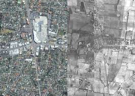 Bird View Map A Bird U0027s Eye View Of Melbourne U0027s Transformation From 1945 To 2015
