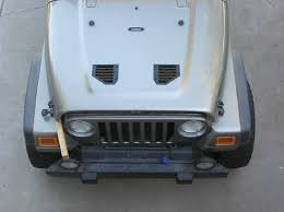 Hood Louvers Install Jeep Tj Wrangler Vents Louvres