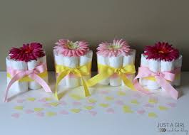 baby shower table ideas sweet and simple baby shower centerpieces just a girl and