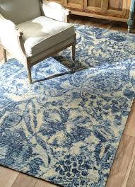 Modern Blue Rugs Decor Blue And White Rug Furniture Edgewatercab