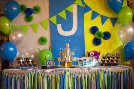 simple birthday decorations at home interior design view