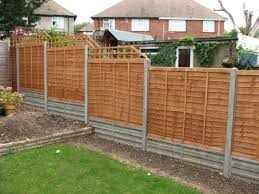 modern fence garden fencing panels gardening ideas